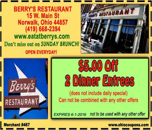 Berry's Restaurant and The Dinky Pub and Grille