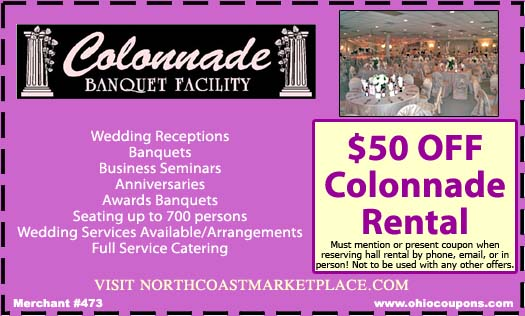 The Colonnade Banquet Facility