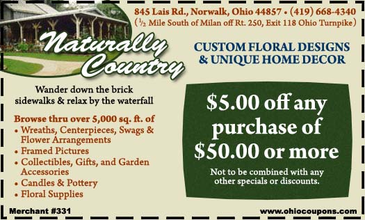 Naturally Country Home Decor, Custom Florals and Gifts