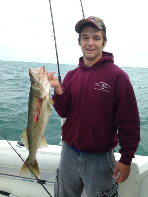 Miss Andrea Fishing Charters on Lake Erie for perch, walleye and bass
